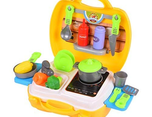 Smartcraft Ultimate Kid Chef Bring Along Kitchen Cooking Suitcase Set (26 Pieces) – Multicolor in India 2020
